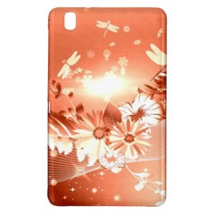 Amazing Flowers With Dragonflies Samsung Galaxy Tab Pro 8.4 Hardshell Case