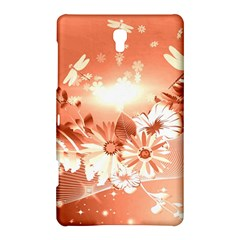 Amazing Flowers With Dragonflies Samsung Galaxy Tab S (8 4 ) Hardshell Case