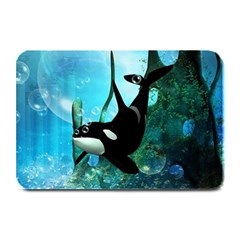 Orca Swimming In A Fantasy World Plate Mats