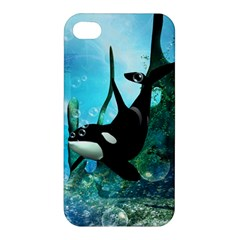 Orca Swimming In A Fantasy World Apple iPhone 4/4S Hardshell Case