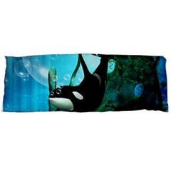 Orca Swimming In A Fantasy World Body Pillow Cases Dakimakura (Two Sides)