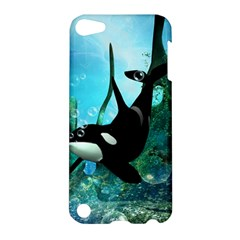 Orca Swimming In A Fantasy World Apple iPod Touch 5 Hardshell Case
