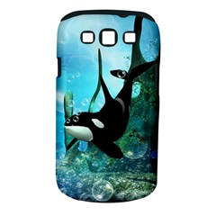 Orca Swimming In A Fantasy World Samsung Galaxy S III Classic Hardshell Case (PC+Silicone)
