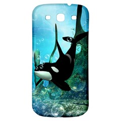 Orca Swimming In A Fantasy World Samsung Galaxy S3 S III Classic Hardshell Back Case