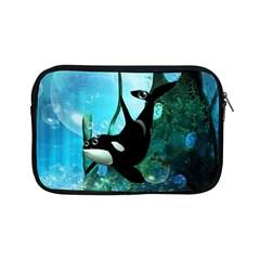 Orca Swimming In A Fantasy World Apple iPad Mini Zipper Cases