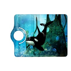 Orca Swimming In A Fantasy World Kindle Fire HD (2013) Flip 360 Case