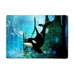 Orca Swimming In A Fantasy World iPad Mini 2 Flip Cases