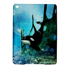 Orca Swimming In A Fantasy World iPad Air 2 Hardshell Cases
