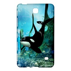 Orca Swimming In A Fantasy World Samsung Galaxy Tab 4 (7 ) Hardshell Case