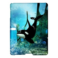 Orca Swimming In A Fantasy World Samsung Galaxy Tab S (10.5 ) Hardshell Case