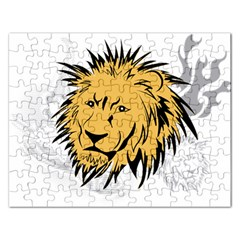 Lion Rectangular Jigsaw Puzzl