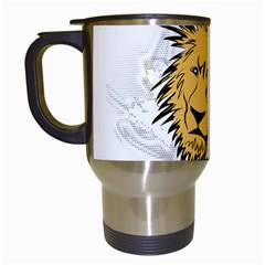 Lion Travel Mugs (White)