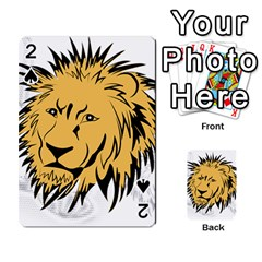 Lion Playing Cards 54 Designs