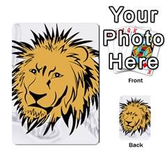 Lion Multi Purpose Cards (rectangle)