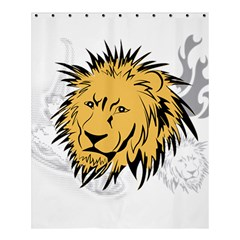 Lion Shower Curtain 60  x 72  (Medium)