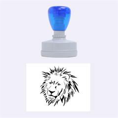 Lion Rubber Oval Stamps