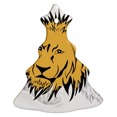 Lion Christmas Tree Ornament (2 Sides)