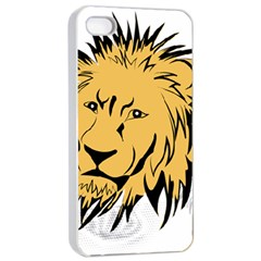 Lion Apple Iphone 4/4s Seamless Case (white)