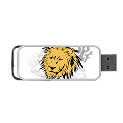 Lion Portable Usb Flash (two Sides)