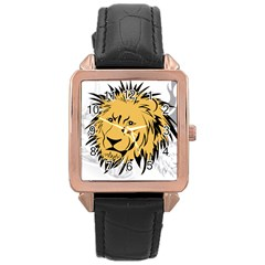 Lion Rose Gold Watches