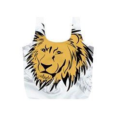 Lion Full Print Recycle Bags (S)