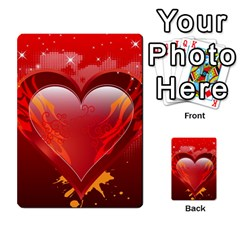 heart Multi-purpose Cards (Rectangle)