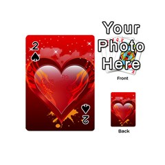 heart Playing Cards 54 (Mini)