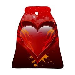 heart Ornament (Bell)