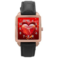 heart Rose Gold Watches