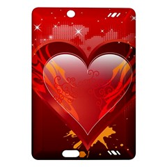 heart Kindle Fire HD (2013) Hardshell Case