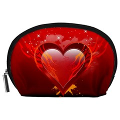 heart Accessory Pouches (Large)