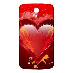 heart Samsung Galaxy Mega I9200 Hardshell Back Case