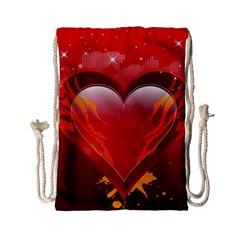 heart Drawstring Bag (Small)