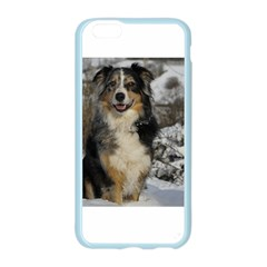 Australian Shepherd In Snow 2 Apple Seamless iPhone 6 Case (Color)