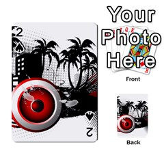 music, speaker Playing Cards 54 Designs