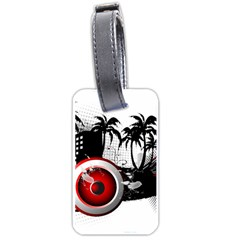 Music, Speaker Luggage Tags (one Side)