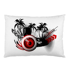 Music, Speaker Pillow Cases (two Sides)