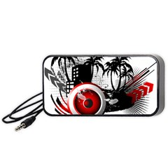 music, speaker Portable Speaker (Black)