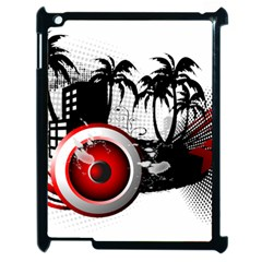 music, speaker Apple iPad 2 Case (Black)