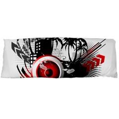 music, speaker Body Pillow Cases Dakimakura (Two Sides)