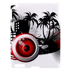 music, speaker Apple iPad 3/4 Hardshell Case