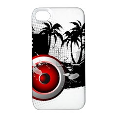 music, speaker Apple iPhone 4/4S Hardshell Case with Stand