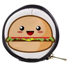 Kawaii Burger Mini Makeup Bags