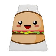Kawaii Burger Ornament (Bell)