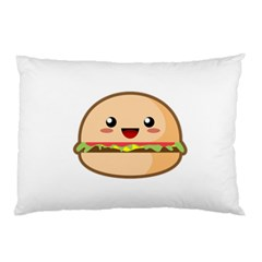 Kawaii Burger Pillow Cases (Two Sides)