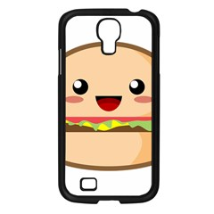 Kawaii Burger Samsung Galaxy S4 I9500/ I9505 Case (Black)