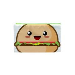 Kawaii Burger Cosmetic Bag (xs)
