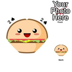 Kawaii Burger Playing Cards 54 (Heart)