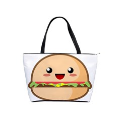 Kawaii Burger Shoulder Handbags