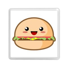 Kawaii Burger Memory Card Reader (Square)